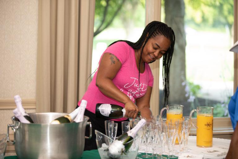 Korbel Champagne Mimosa Bar
